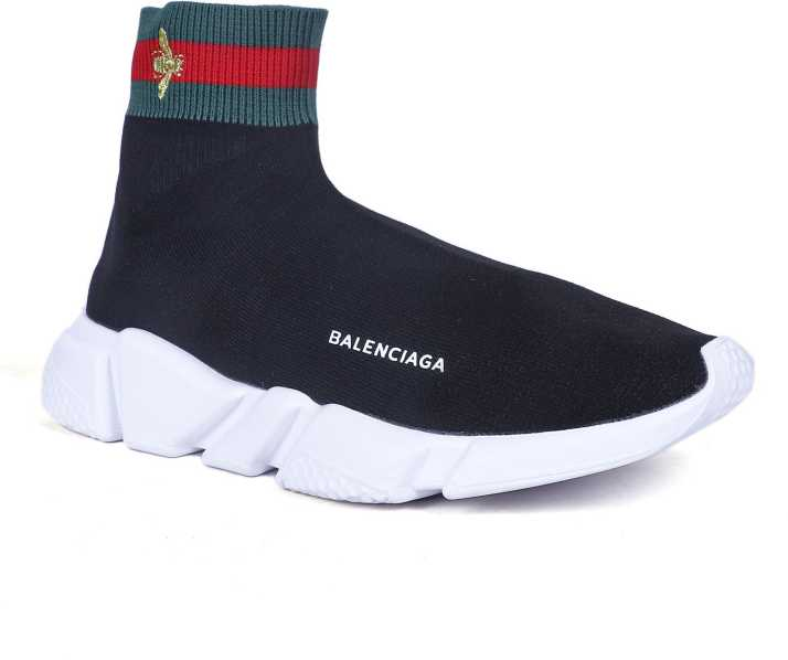 c366ad94240 Balenciaga X Gucci Speed Trainer Sneakers For Men - Buy Balenciaga X Gucci  Speed Trainer Sneakers For Men Online at Best Price - Shop Online for  Footwears .