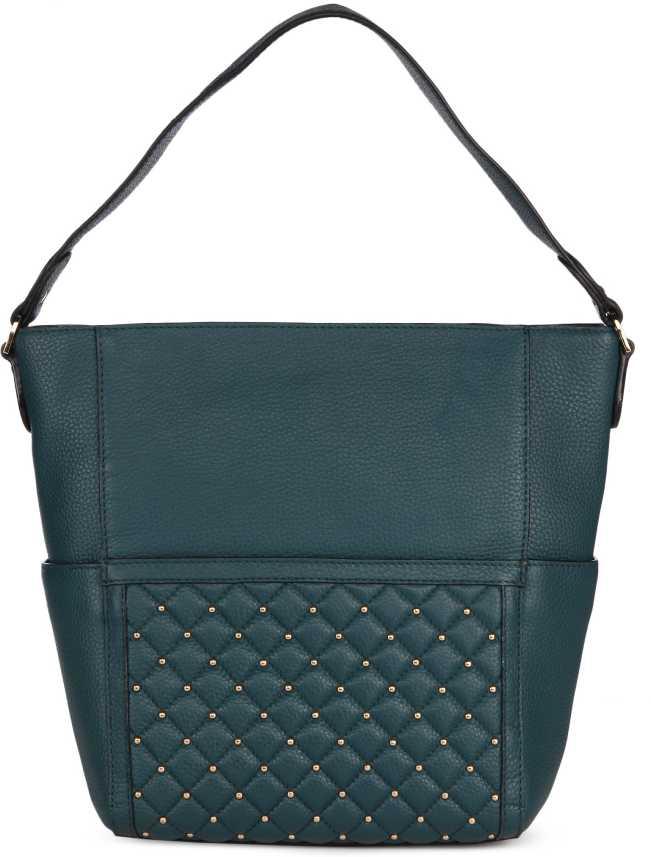 5d37547d085 Buy Da Milano LB-2241WAX/QUILTINGTEAL Blue Shoulder Bag TEAL Online @ Best  Price in India | Flipkart.com