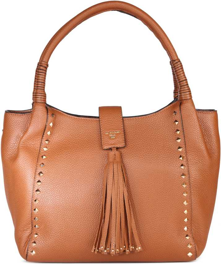 dc028e3b97 Buy Da Milano LB-2242WAXCON Brown Shoulder Bag CON Online @ Best Price in  India | Flipkart.com