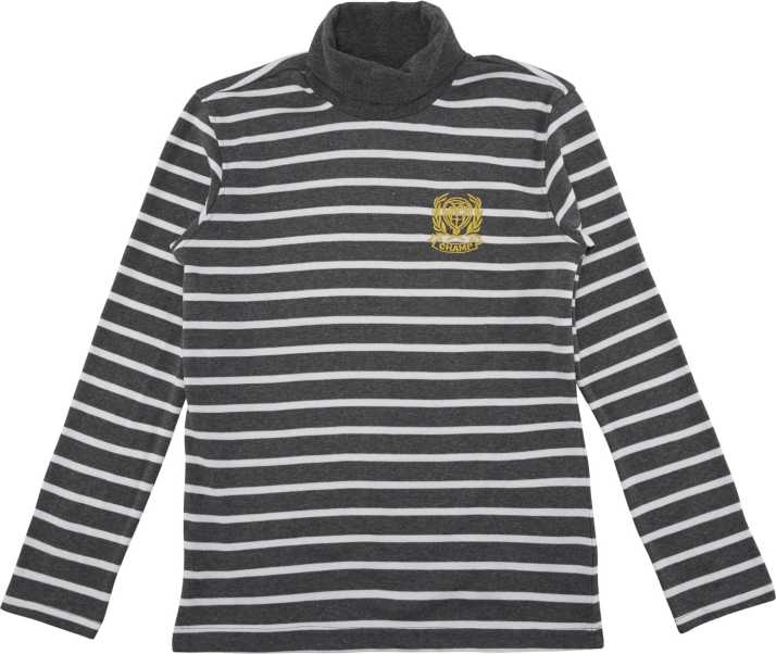 c7a6e7f252f Poppers by Pantaloons Full Sleeve Striped Boys Sweatshirt - Buy ...