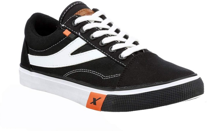 Sparx Canvas Size 6 Sneakers - Black