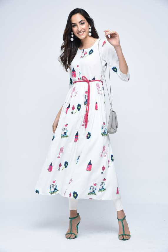 914f6a9a8 Stylum Casual Printed Women s Kurti - Buy Stylum Casual Printed Women s  Kurti Online at Best Prices in India