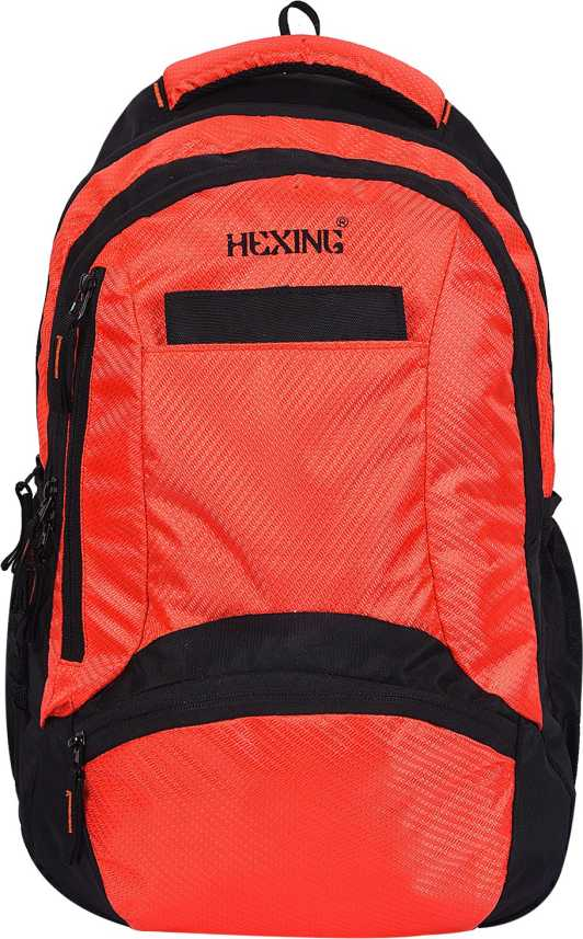 9e22c85648a6 HEXING ORANGE WITH BLACK 35.0 Backpack 2 - Price in India