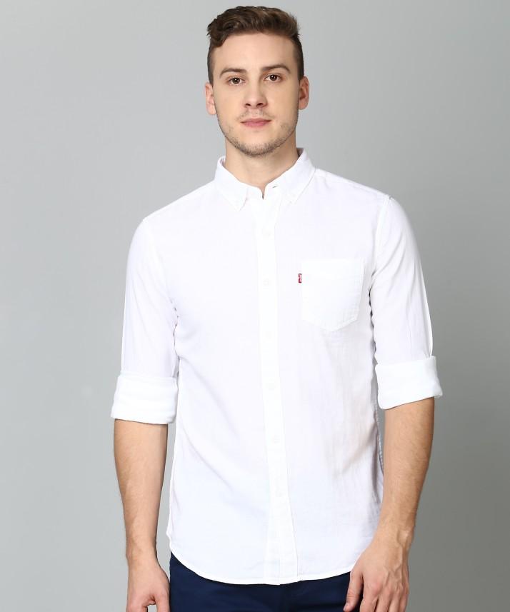 levis white shirt price