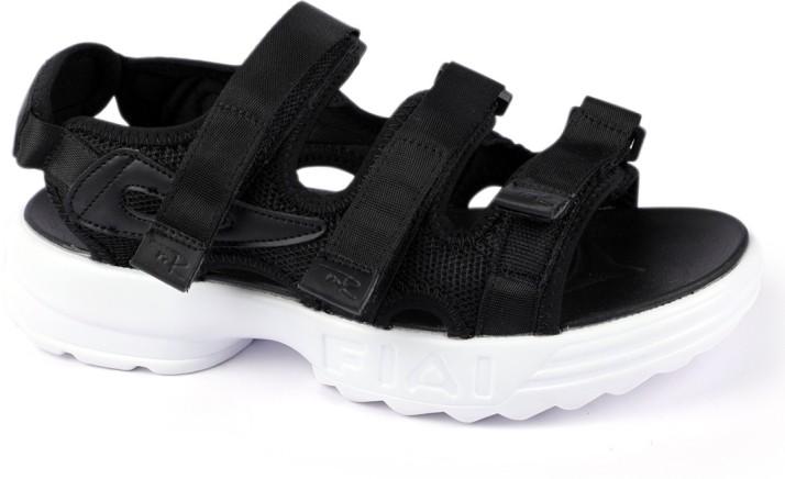 Mr.SHOES Men Black Sandals - Buy Mr
