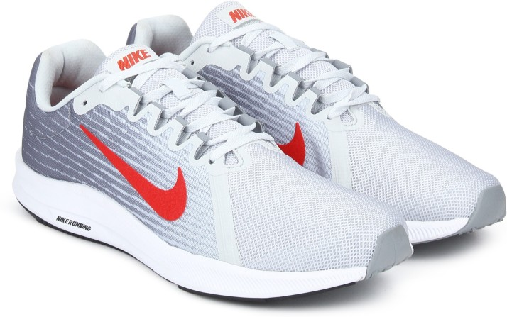 Nike DOWNSHIFTER 8 Running Shoes For Men (Grey)