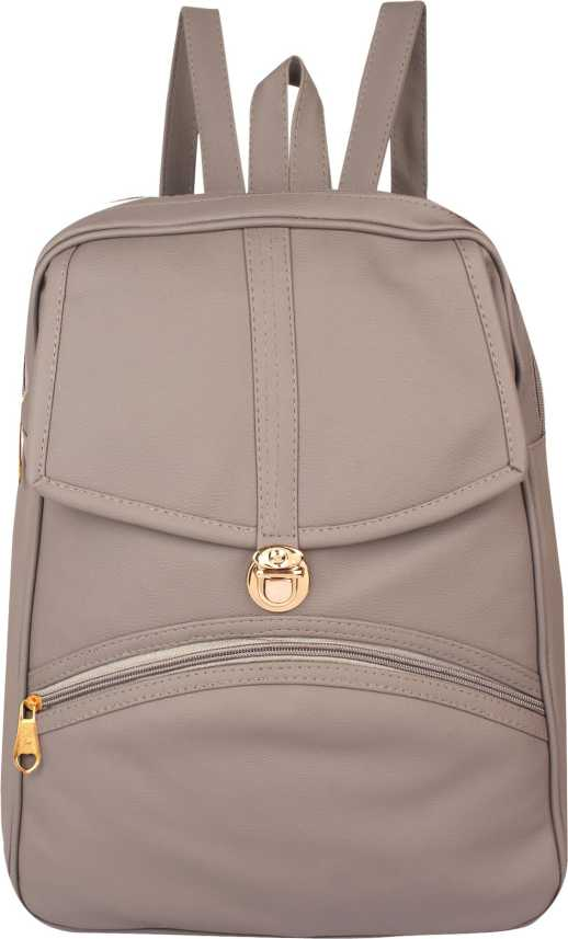 18d2dff0734f Rajni Fashion PU Leather Backpack School Bag Student Backpack Women Travel  bag Tuition Bag 12 L Backpack