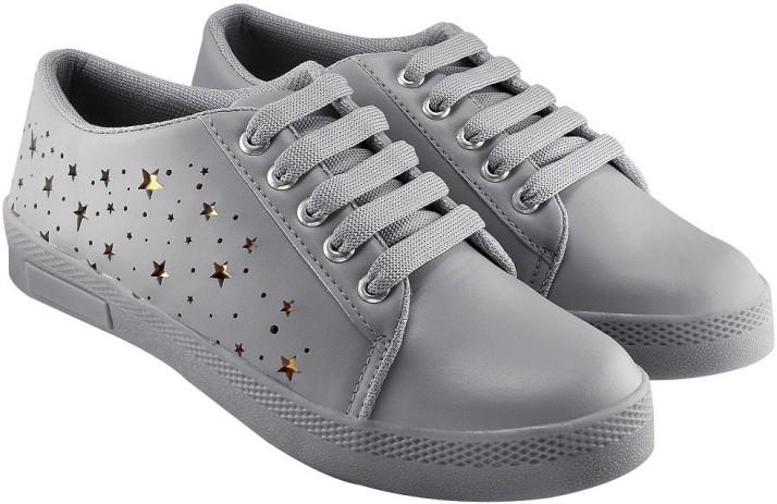 Blinder Women's Grey Sneakers For Women
