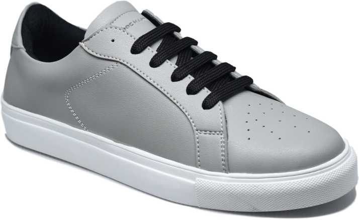 77d55d720 DOC Martin Grey Charlie Canvas Shoes For Men - Buy DOC Martin Grey ...