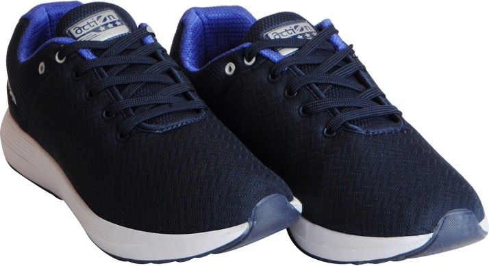 Action Sports Mesh Running Shoes For
