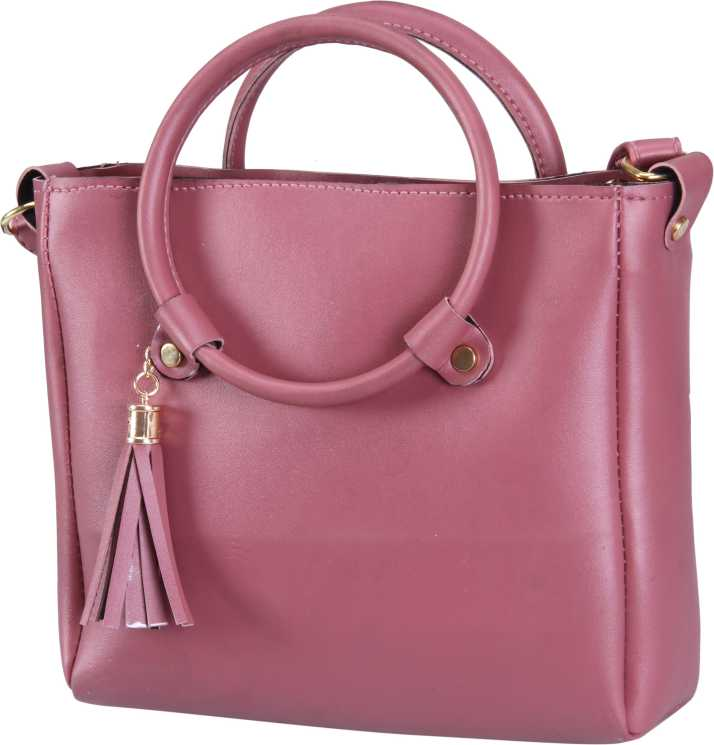 a8e9c45308 AIZAH Women Casual Pink PU Sling Bag MAUVE - Price in India | Flipkart.com