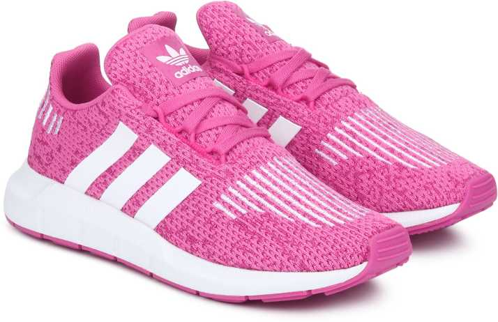 ADIDAS Girls Lace Running Shoes