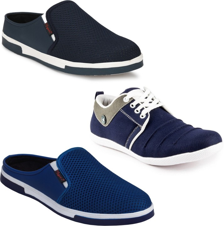 Casual Shoes Combo Pack of 3 Casuals