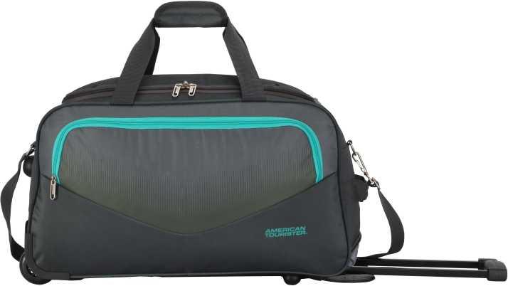 American Tourister OHIO WHEEL DUFFLE 65 cm- GREY Duffel Strolley Bag