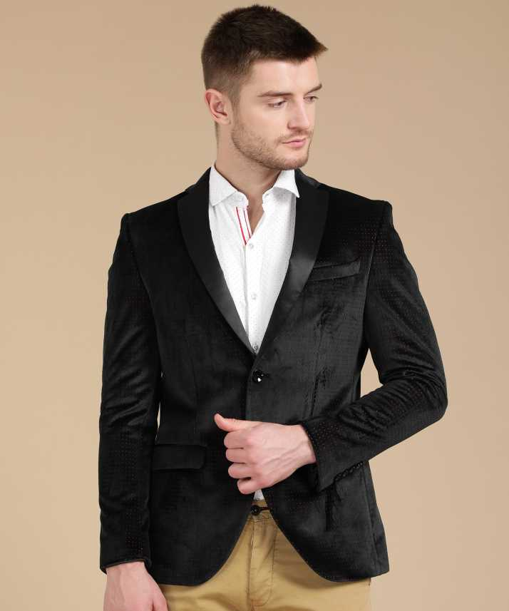 Blackberrys Self Design Tuxedo Style Festive Wedding Men Blazer Buy Blackberrys Self Design Tuxedo Style Festive Wedding Men Blazer Online At Best Prices In India Flipkart Com