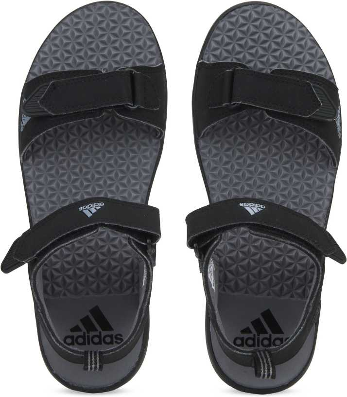 e59a57401212 ADIDAS Men Black Sports Sandals - Buy ADIDAS Men Black Sports Sandals  Online at Best Price - Shop Online for Footwears in India