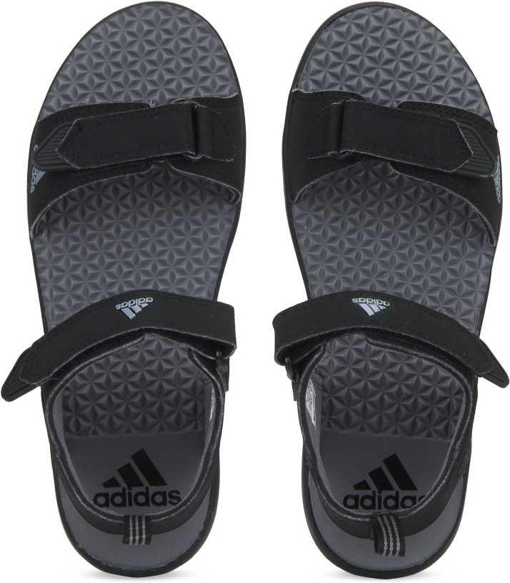 0b608704025850 ADIDAS Men Black Sports Sandals - Buy ADIDAS Men Black Sports Sandals Online  at Best Price - Shop Online for Footwears in India