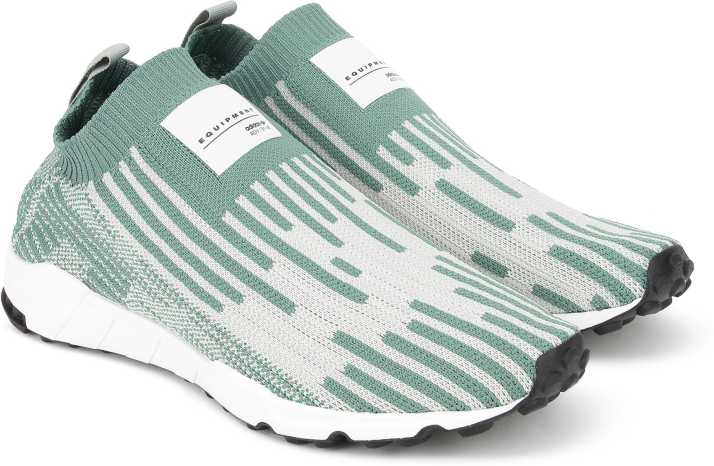 new style be467 8e16c ADIDAS ORIGINALS EQT SUPPORT SK PK Slip On Sneakers For Men (Green)