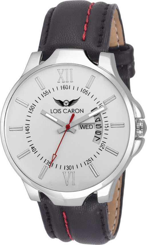 0225908cf9b Lois Caron LCS-8005 DAY   DATE FUNCTIONING Watch - For Men - Buy Lois Caron  LCS-8005 DAY   DATE FUNCTIONING Watch - For Men LCS-8005 Online at Best  Prices ...