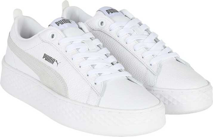 the latest ce0d4 fca88 Puma Puma Smash Platform L Sneakers For Men (White)