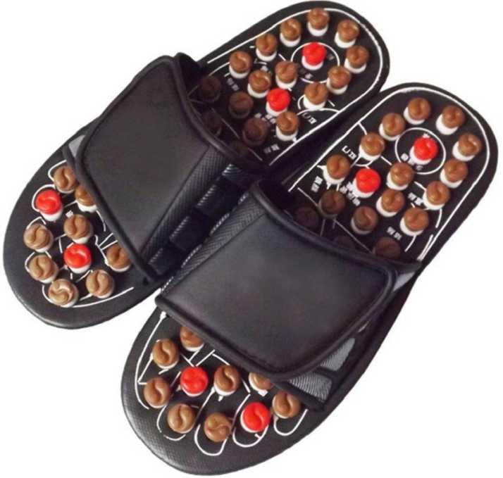 bbe8cfdcbc15 MVKA Accu Paduka Yoga Paduka Acupressure Slippers Slides - Buy MVKA Accu  Paduka Yoga Paduka Acupressure Slippers Slides Online at Best Price - Shop  Online ...