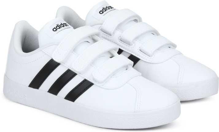 ADIDAS Boys Velcro Tennis Shoes
