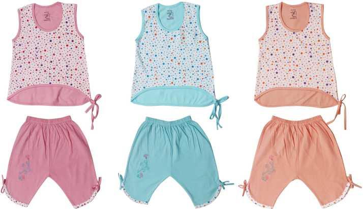 Jo Kids Wear Girls Casual Dress Top, Three Fourth Pant Price in India - Buy  Jo Kids Wear Girls Casual Dress Top, Three Fourth Pant online at  Flipkart.com