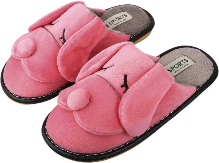 035ca3b884b IRSOE Women Velvet Anti-Slip Soft Bottom Slippers Wool Slip-On Indoor    Outdoor Fur Slippers - Pink Slides - Buy IRSOE Women Velvet Anti-Slip Soft  Bottom ...