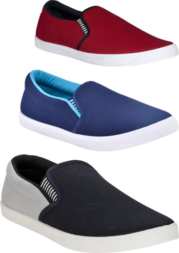 BRUTON Combo Pack Of 3 Casual Shoes