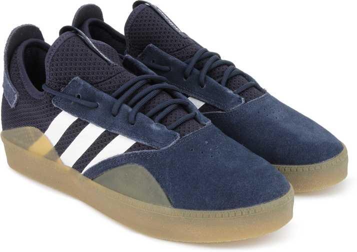 huge discount 5aee7 cdf1d ADIDAS ORIGINALS 3ST.001 Sneakers For Men (Navy)