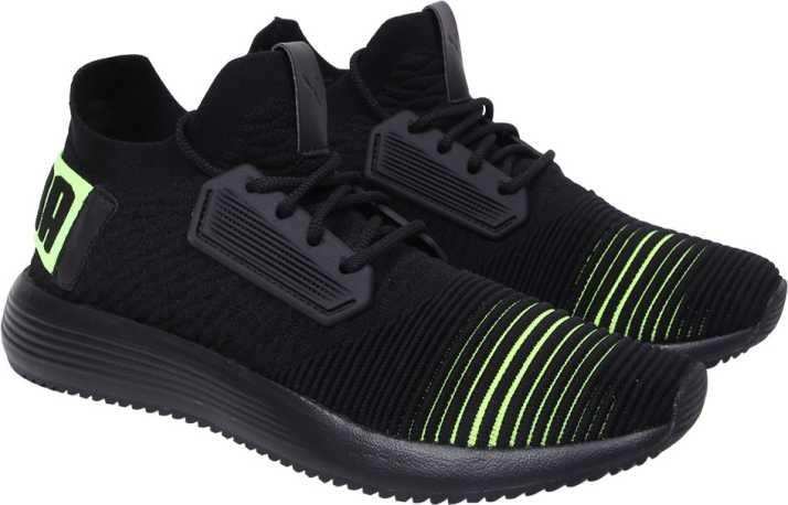 Puma Uprise Color Shift Puma Black-Limepunch Casuals For Men - Buy ... 891b785ea