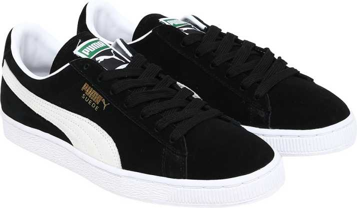 the latest cd922 61d1d Puma Suede Classic+ Canvas Shoes For Men