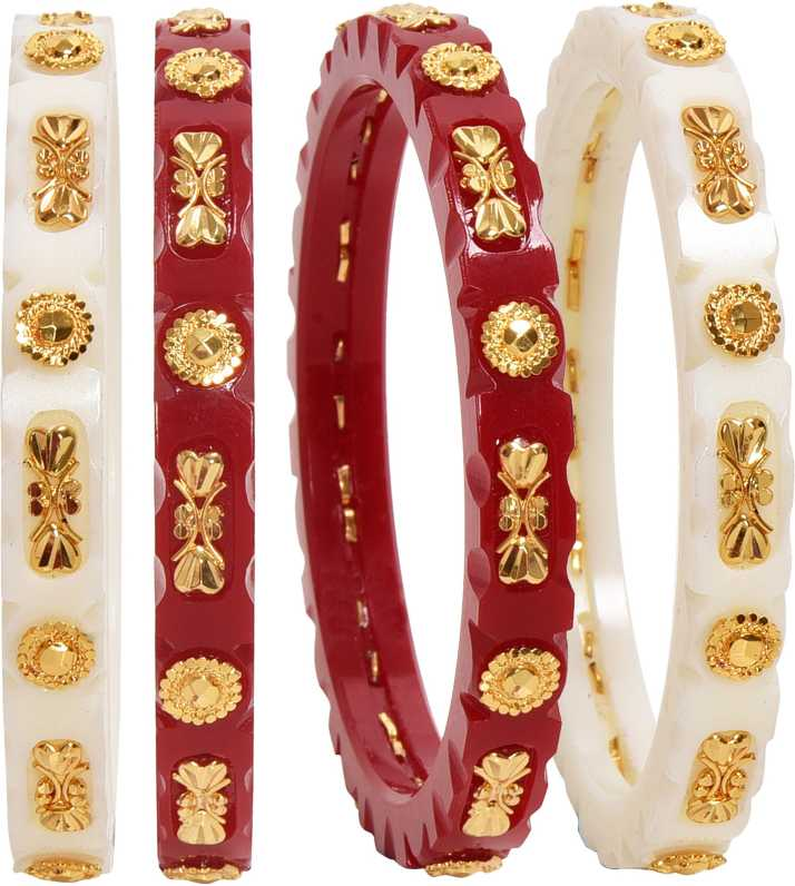 Bengali Shakha Paula Bangle Designs Dhanalakshmi Jewellers