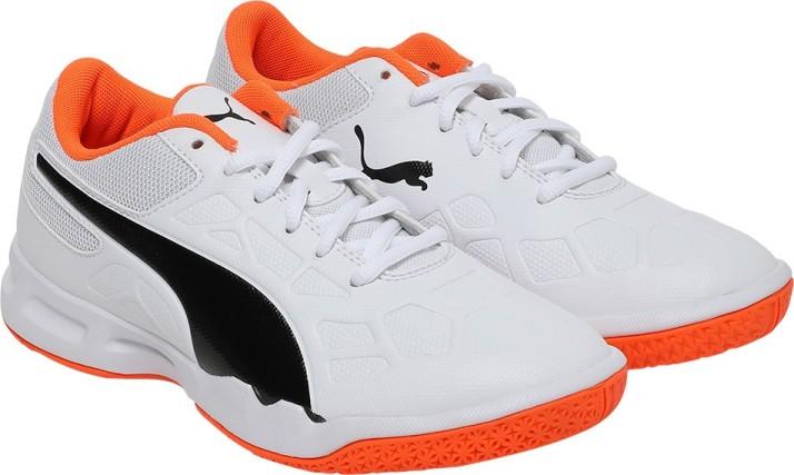Puma Boys \u0026 Girls Lace Badminton Shoes