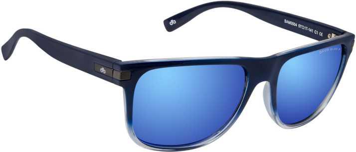 1ee573e2d6c Buy David Blake Wayfarer Sunglasses Blue For Men   Women Online ...