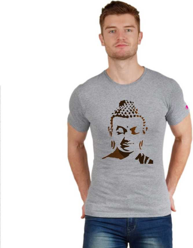 f6621ace PrintOctopus Graphic Print Men's & Women's Round Neck Grey T-Shirt - Buy  PrintOctopus Graphic Print Men's & Women's Round Neck Grey T-Shirt Online  at Best ...