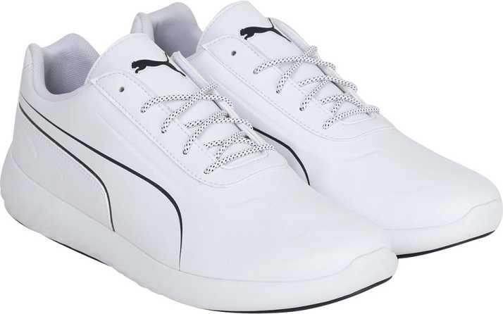 new york e7903 1da7f Puma BMW MS Speed Cat Synth Walking Shoes For Men (White, Black)