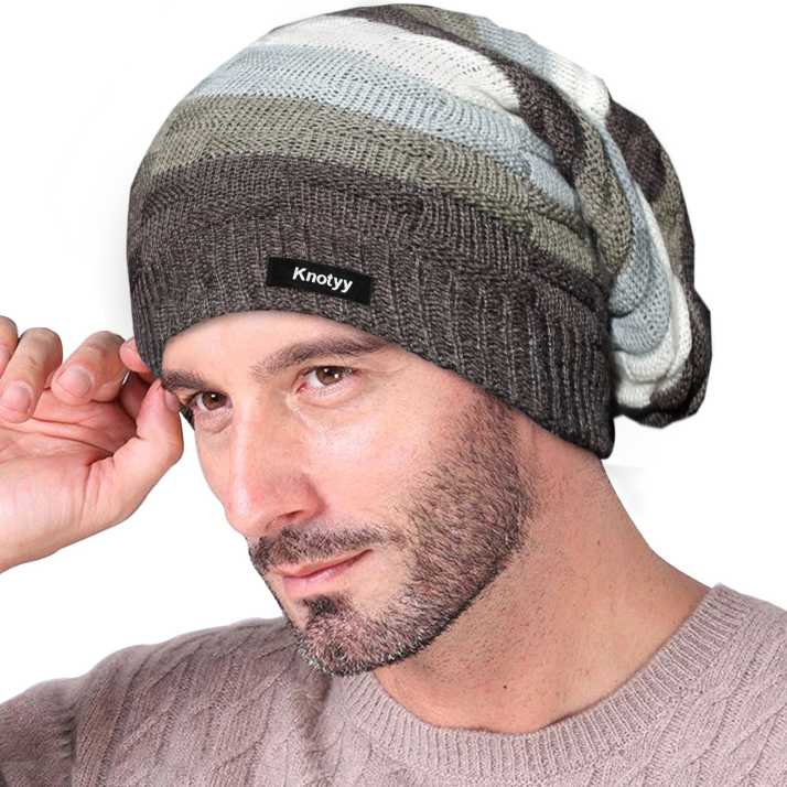 Knotyy Beanie Cap - Buy Knotyy Beanie Cap Online at Best Prices in India  fe6b1da7228