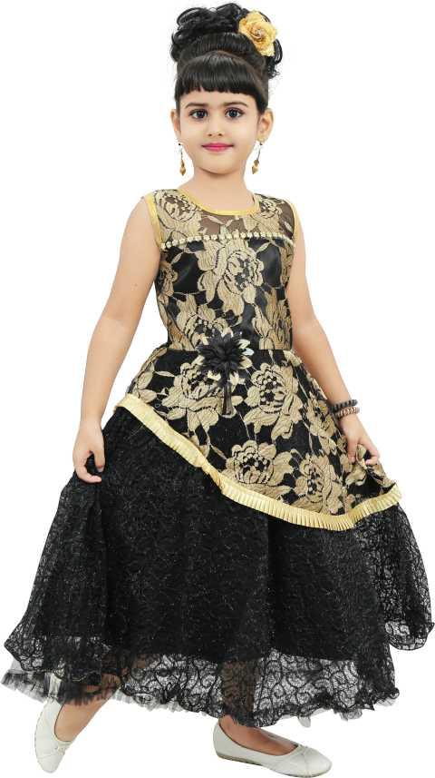 9534af0d9b CHANDRIKA Indi Girls Maxi/Full Length Festive/Wedding Dress