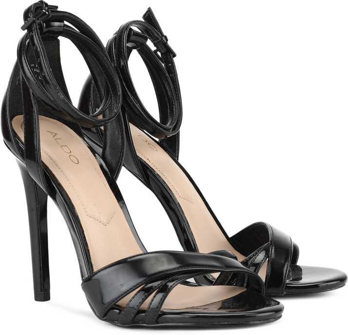 3ffb4d709784 ALDO Women Black Patent Heels - Buy ALDO Women Black Patent Heels Online at Best  Price - Shop Online for Footwears in India