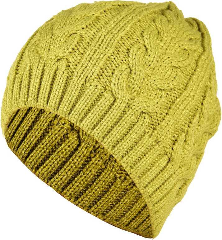 d76781d629b DRUNKEN Solid Women s Winter Cap for women Warm Knitt Hat Wool Baggy Beanie  Skull Cap Green Woollen Cap Cap - Buy DRUNKEN Solid Women s Winter Cap for  women ...