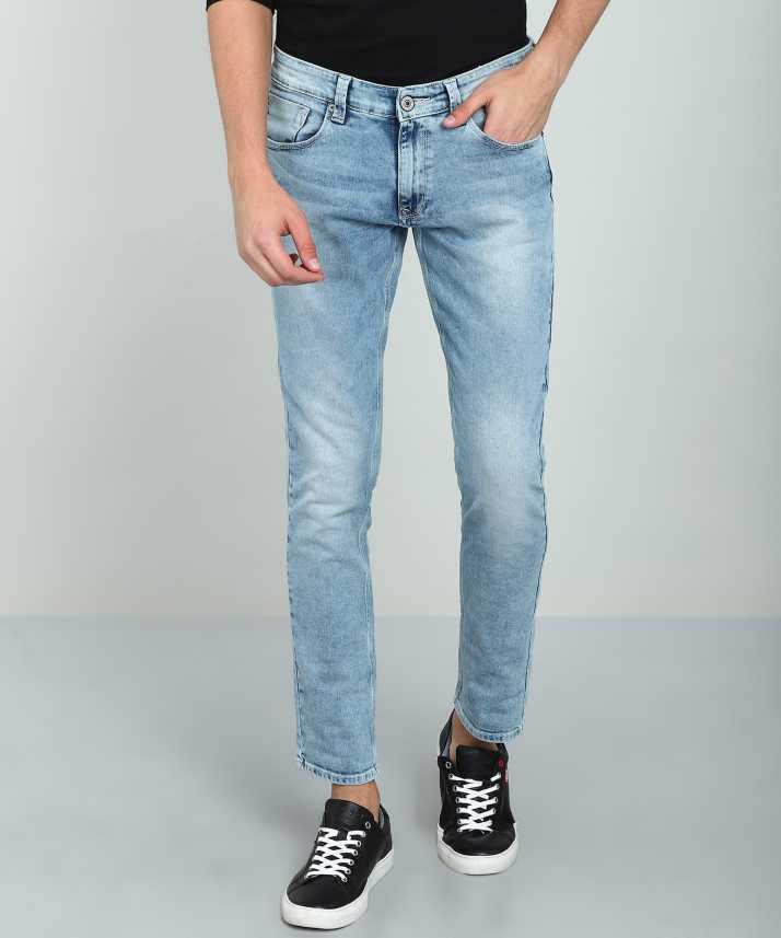 5b0f58e6 Spykar Tapered Fit Men Light Blue Jeans - Buy Spykar Tapered Fit Men Light  Blue Jeans Online at Best Prices in India   Flipkart.com