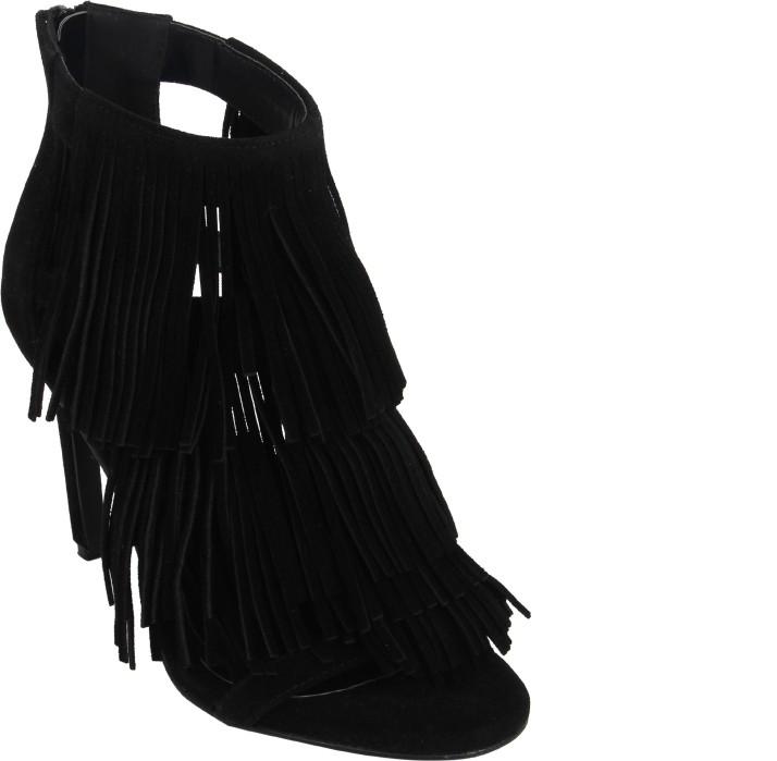 Catwalk Women Black Heels - Buy Catwalk