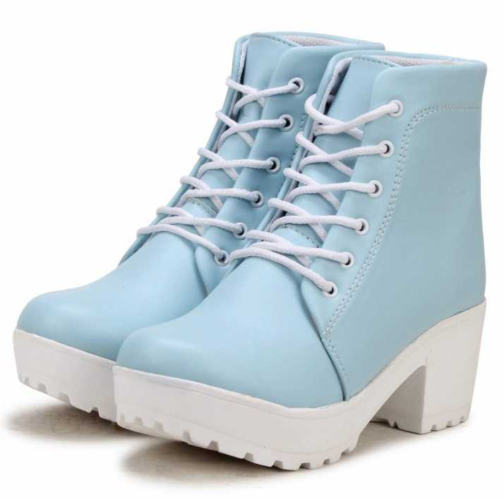 Zapatoz Woman Comfortable Long Sky Shoe Boots For Women High Tops For Men