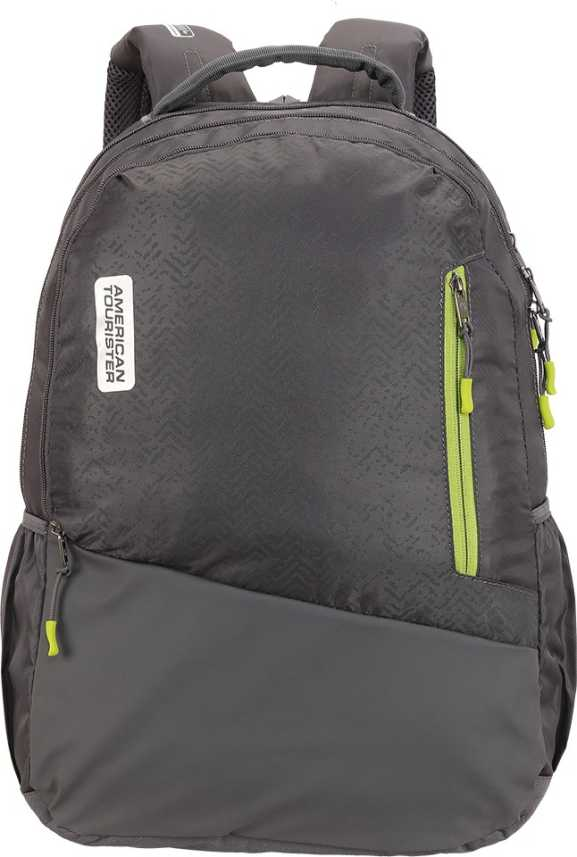 c6f7920025 American Tourister WONGO BACKPACK 01-DARK GREY 37.0 L Backpack DARK GREY -  Price in India