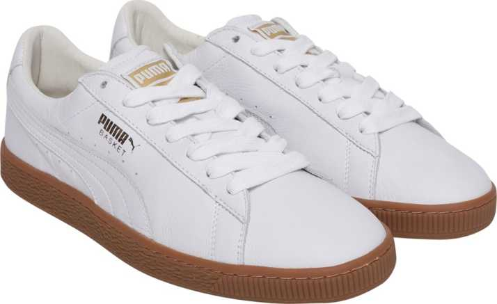 new styles 31841 d5a2a Puma Basket Classic Gum Deluxe Sneakers For Men