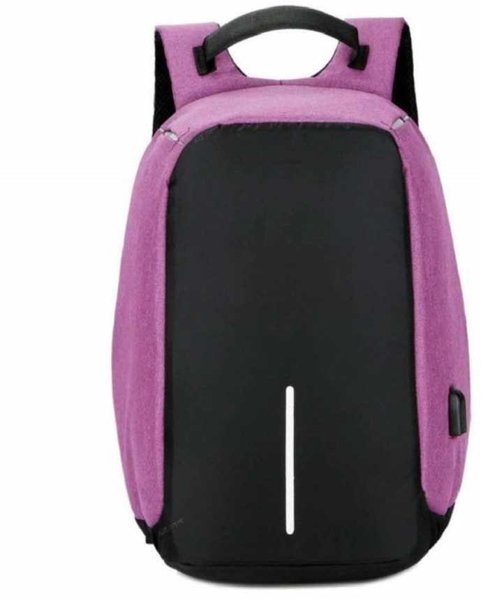 85af7e29cd9d Zureni Anti Theft Waterproof Backpack Laptop Bag with USB Charging Port