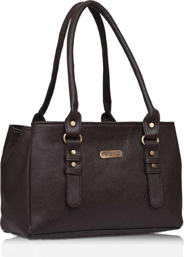 fe860c62fc9 Buy Fristo Shoulder Bag Brown Online @ Best Price in India ...