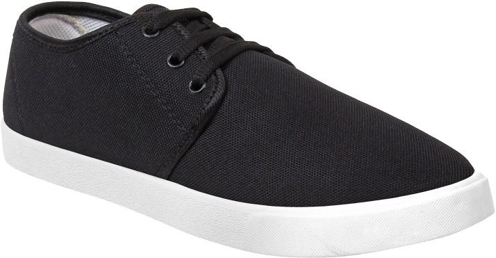 Super Matteress Black-349 Canvas Shoes