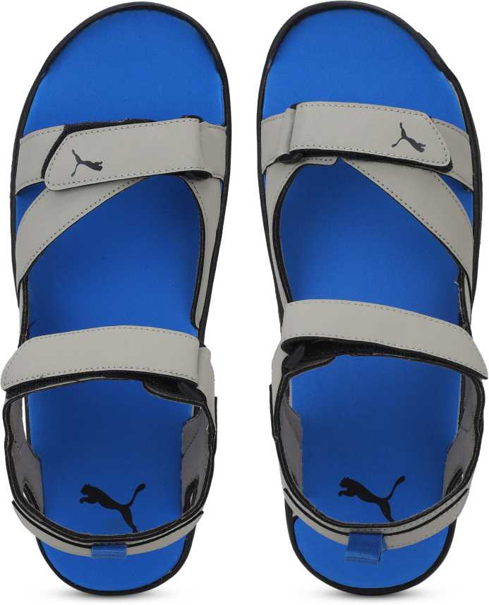 972b13f2d59a Puma Men Elephant Skin-Strong Blue- Black Sports Sandals - Buy Puma Men  Elephant Skin-Strong Blue- Black Sports Sandals Online at Best Price - Shop  Online ...